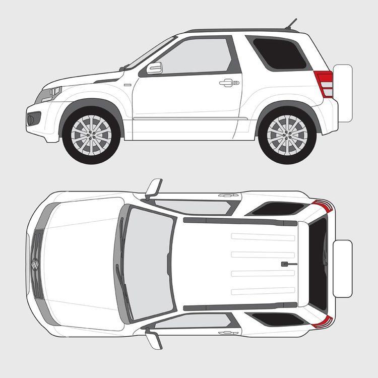 Suzuki Grand Vitara 3-dörrar 2014-