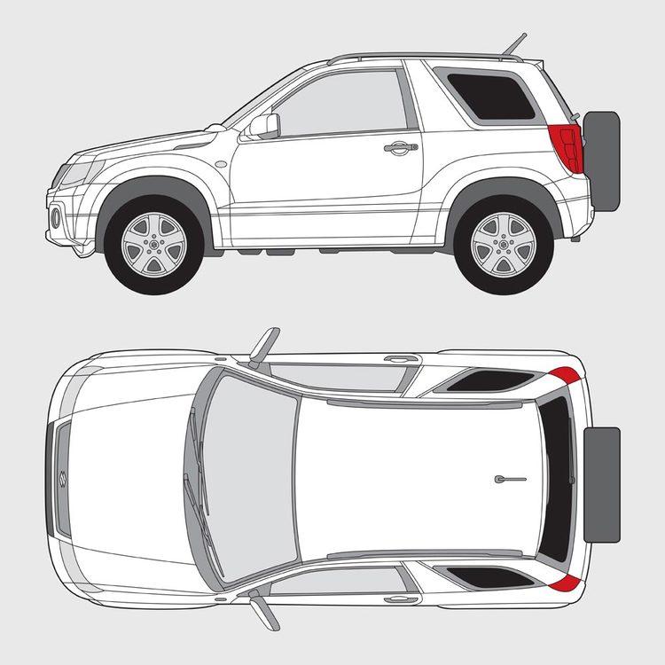 Suzuki Grand Vitara 3-dörrar 2005-2014