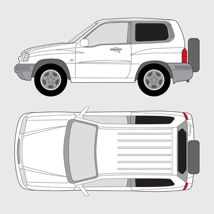 Suzuki Grand Vitara 3-dörrar 1998-2005