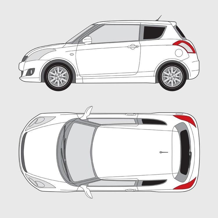 Suzuki Swift 3-dörrar 2010-