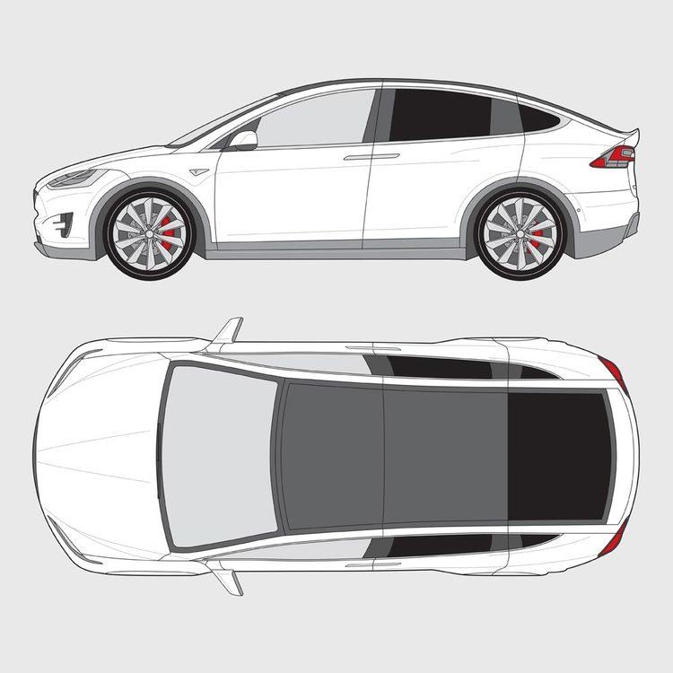 Tesla Model X 2016-