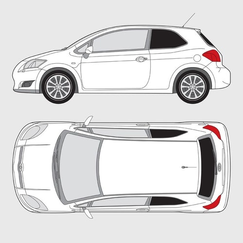 Toyota Auris 3-dörrar