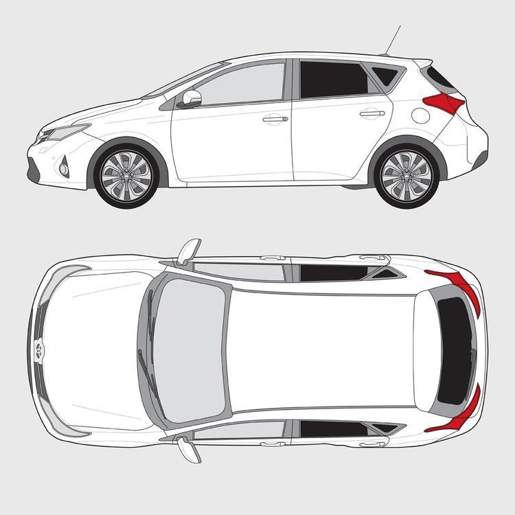 Toyota Auris 5-dörrar 2013-