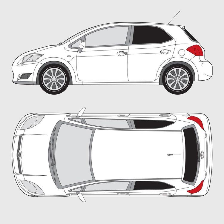 Toyota Auris 5-dörrar 2007-2013