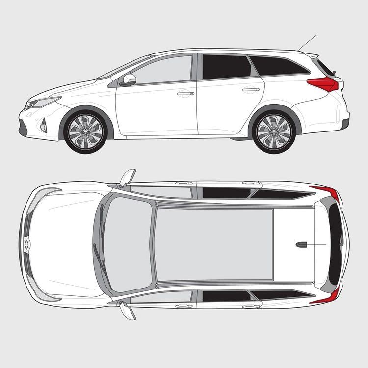 Toyota Auris kombi 2013-