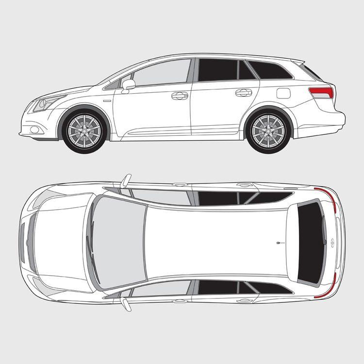 Toyota Avensis kombi 2009-2017