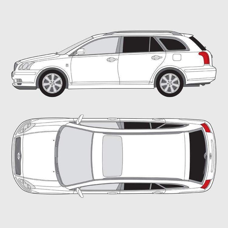 Toyota Avensis kombi 2003-2009