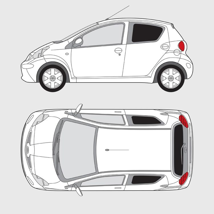 Toyota Aygo 5-dörrar 2005-2014