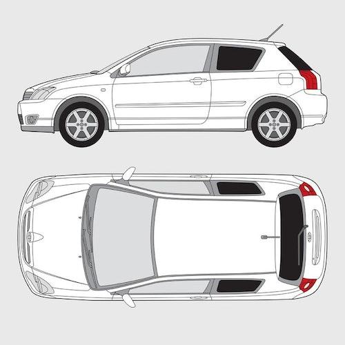 Toyota Corolla 3-dörrar