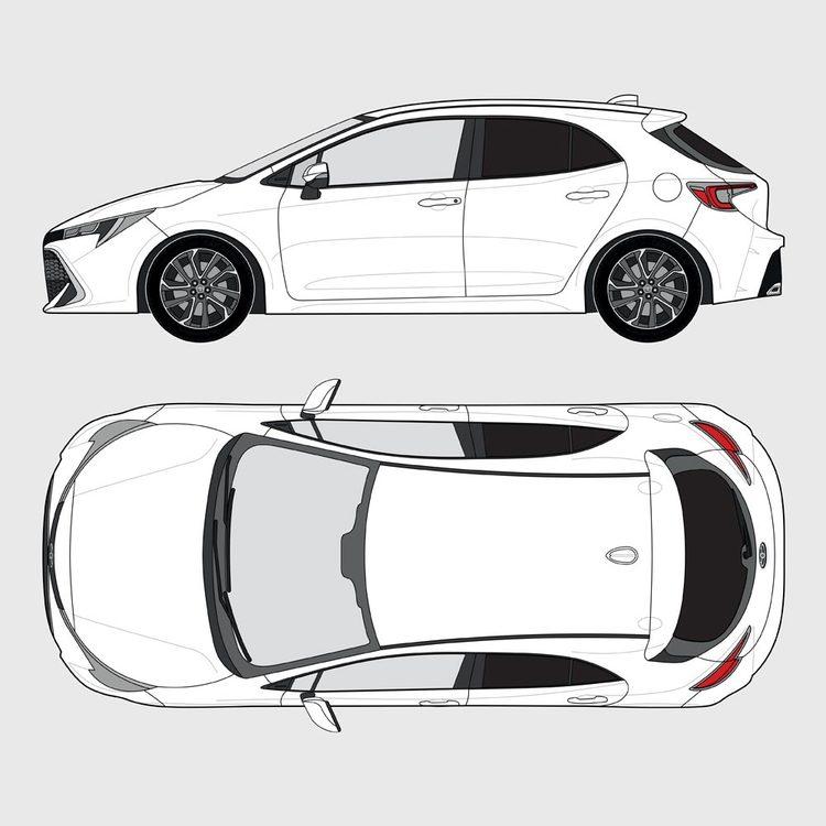 Toyota Corolla 5-dörrar 2019-