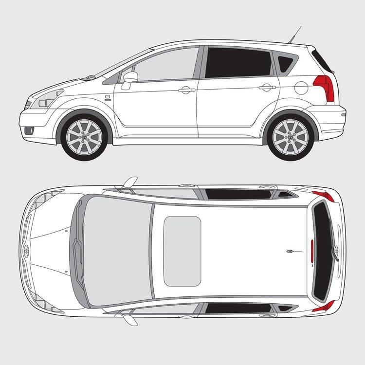 Toyota Corolla Verso 2004-2010