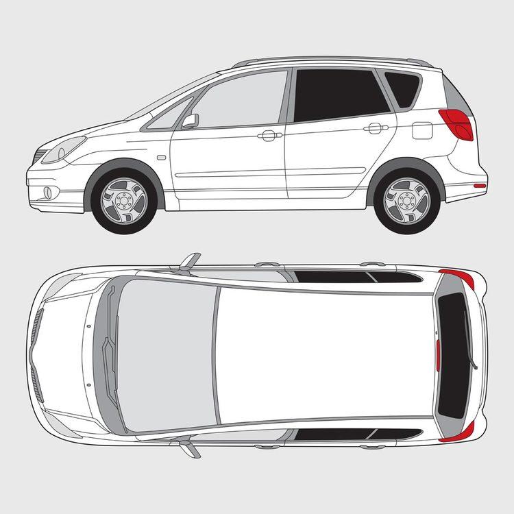 Toyota Corolla Verso 2001-2004