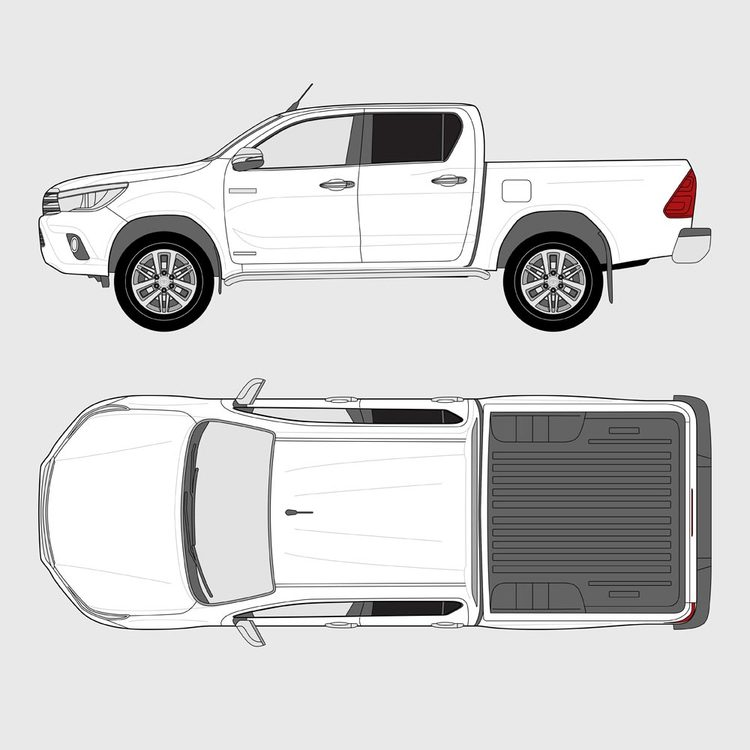Toyota Hilux Double Cab 2015-