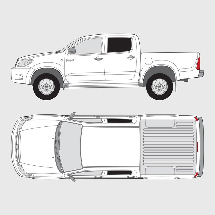 Toyota Hilux Double Cab 2005-2015