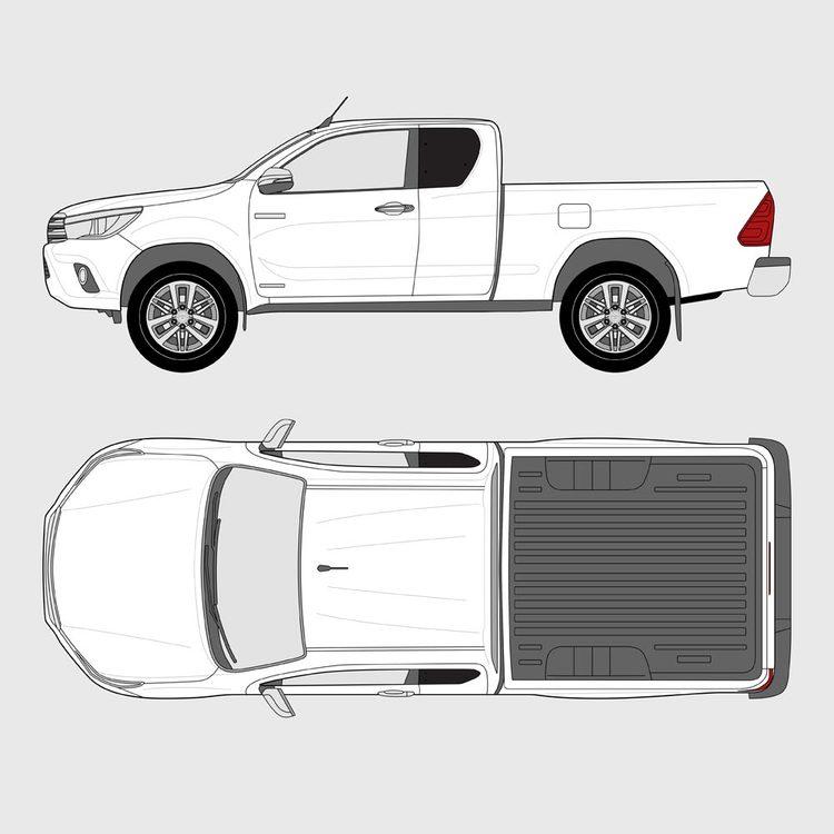 Toyota Hilux Extra Cab 2015-