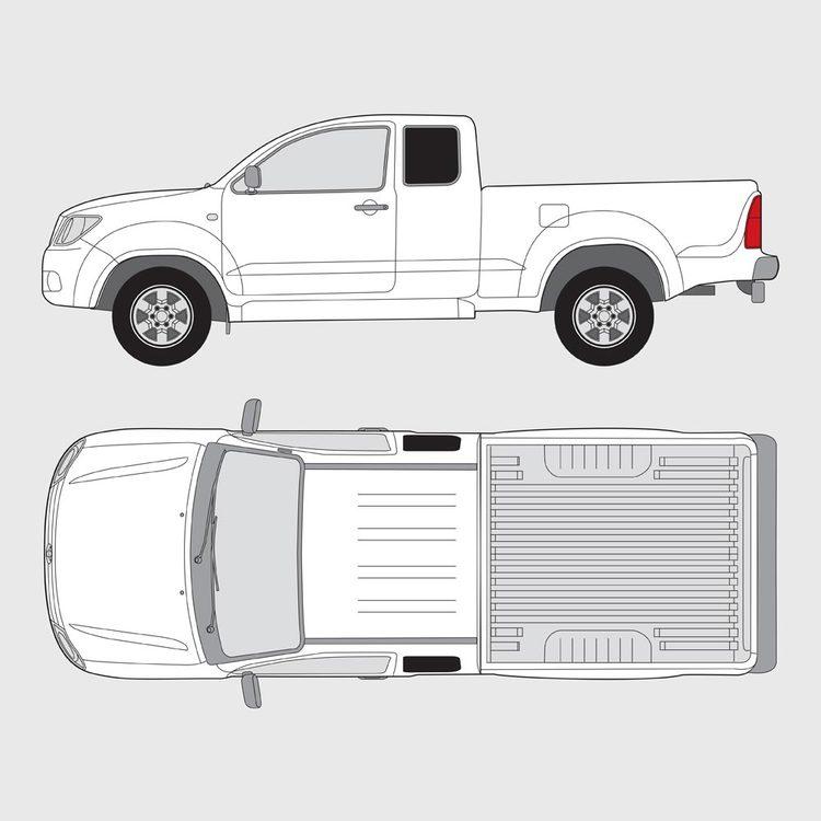 Toyota Hilux Extra Cab 2006-2015