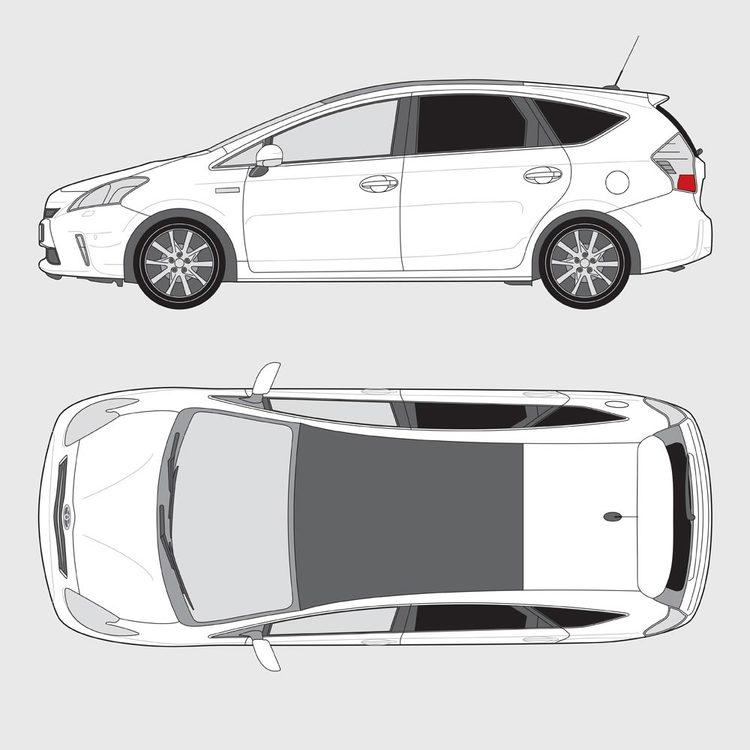 Toyota Prius+ 2012-