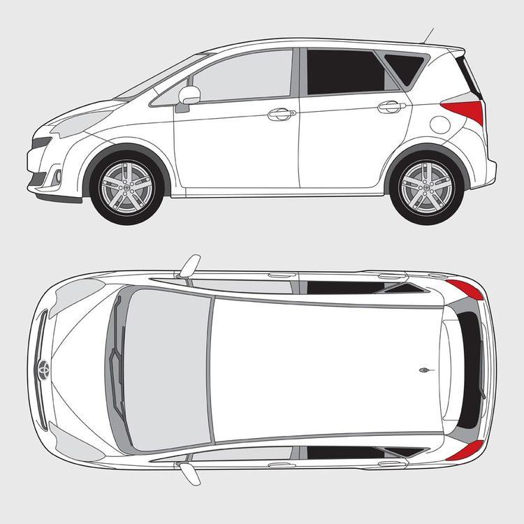Toyota Verso S 2011-
