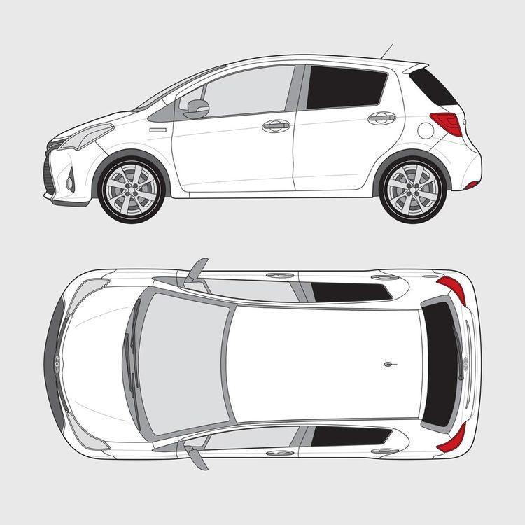 Toyota Yaris 5-dörrar 2014-