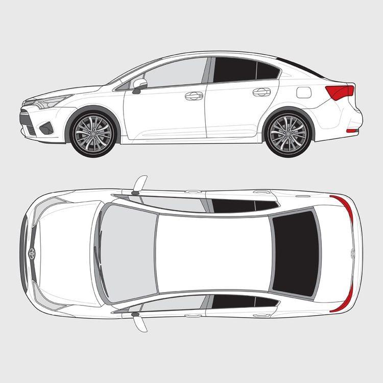 Toyota Avensis 4-dörrar 2016-