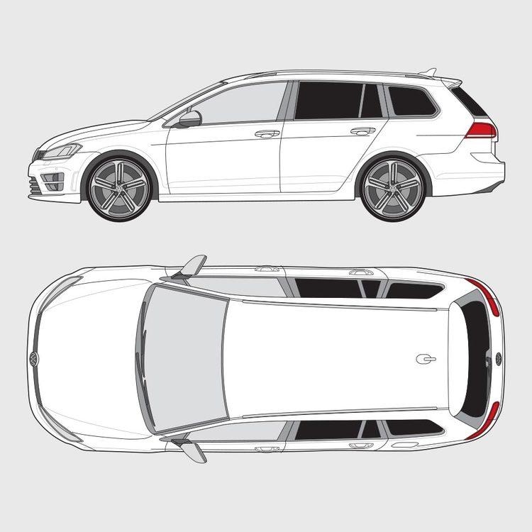 Volkswagen Golf kombi 2015-2019