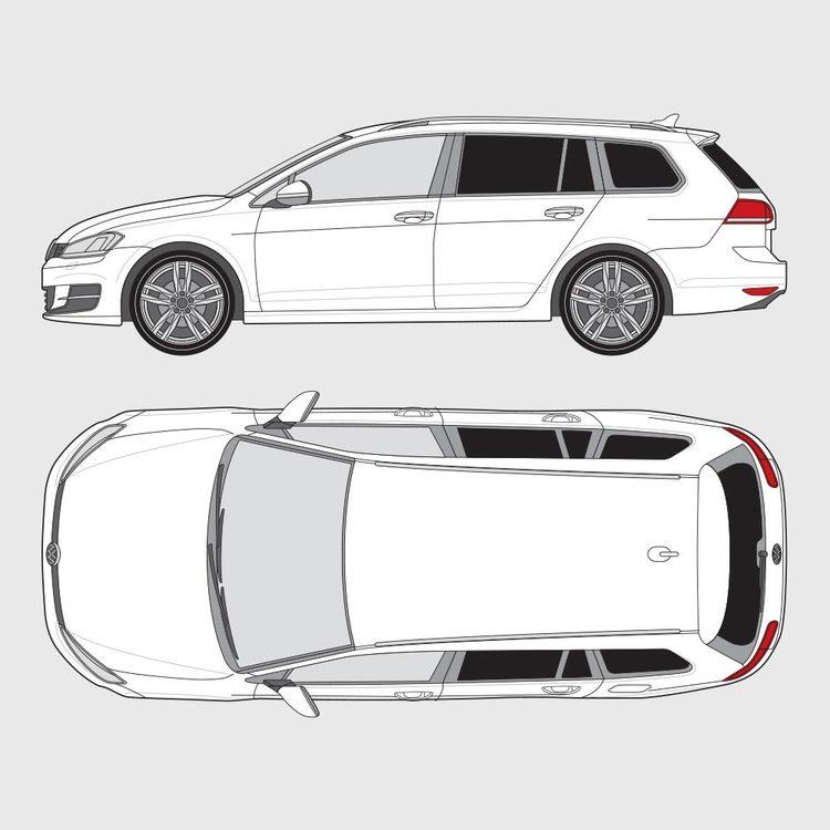 Volkswagen Golf kombi 2013-2016