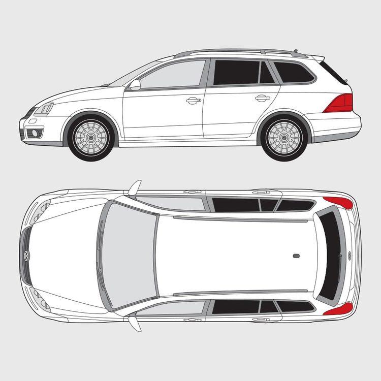 Volkswagen Golf kombi 2007-2012