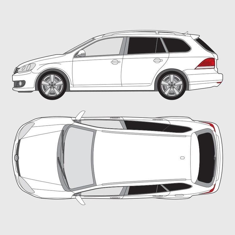 Volkswagen Golf 6 kombi 2010-2013