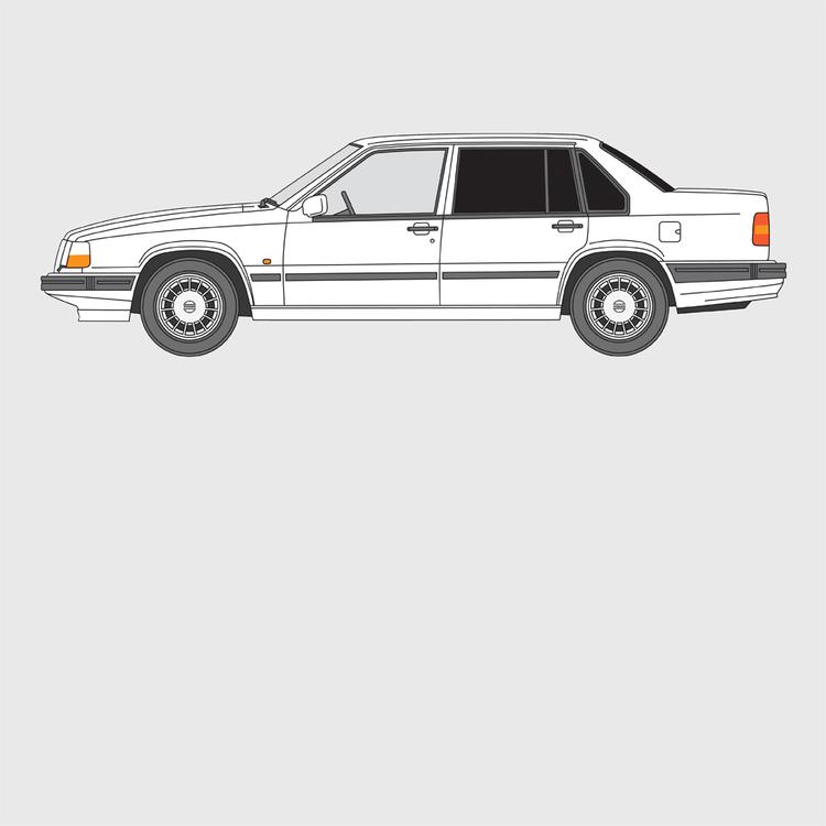 Volvo 940-960 4-dörrar 1991-1998
