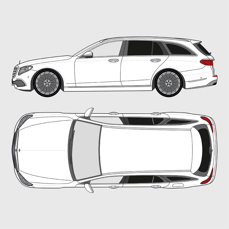 Mercedes E-Klass kombi 2017-