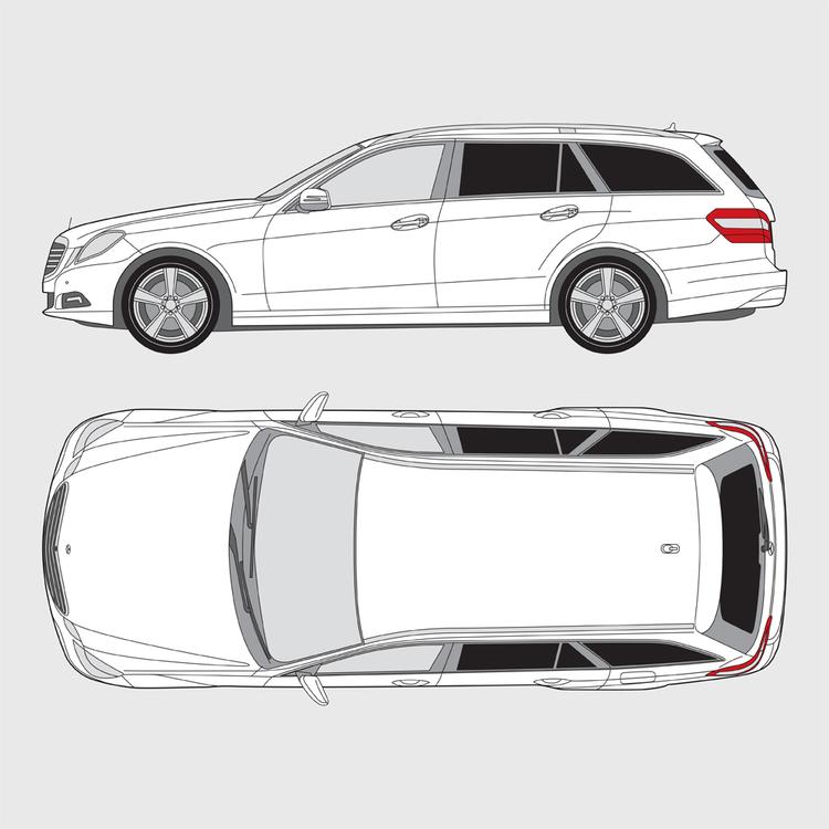 Mercedes E-Klass kombi 2009-2017