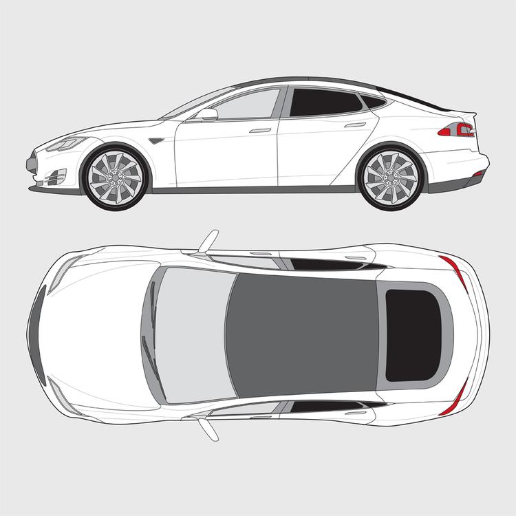 Tesla Model S 2013-