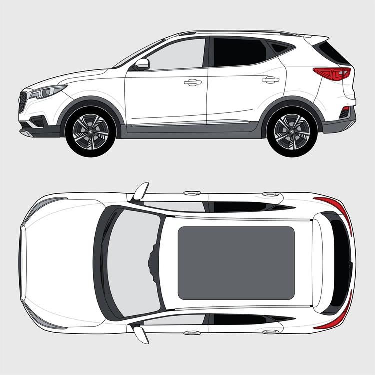 MG ZS EV 2021-