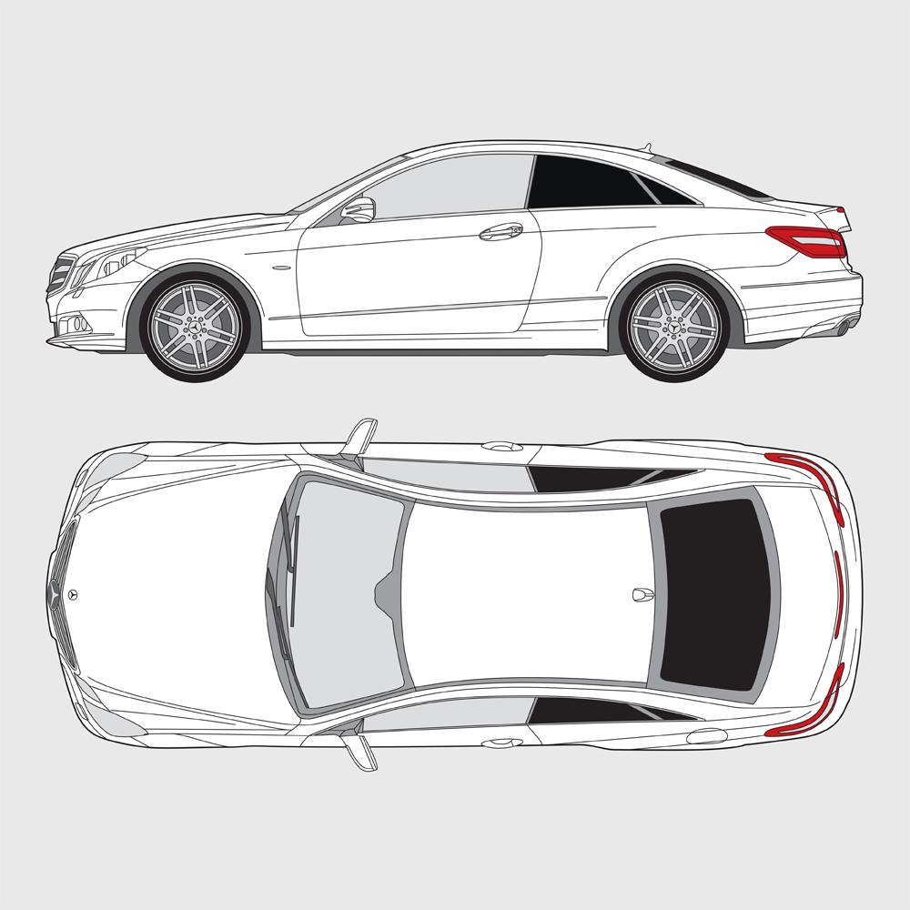 Mercedes E-Klass Coupe 2009-2017