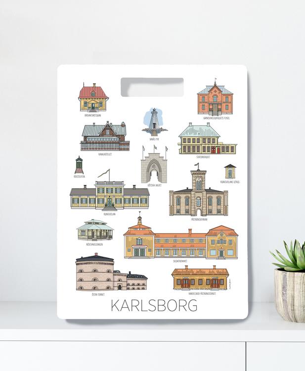 Skärbräda Karlsborg