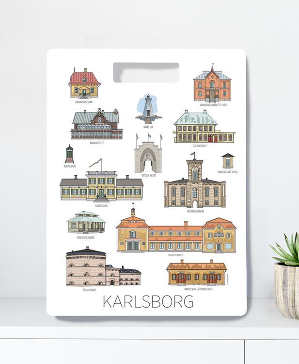 Karlsborgshus skärbräda