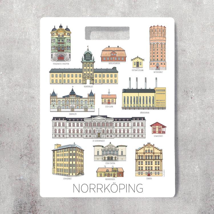 Norrköpingshus skärbräda