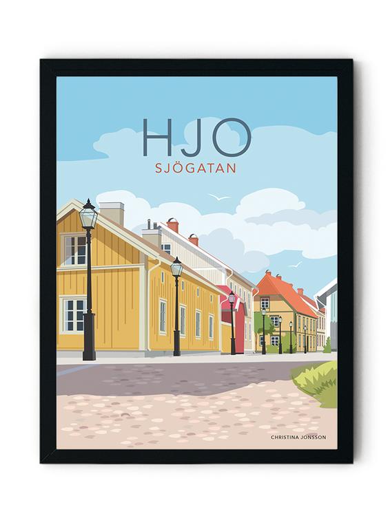 Hjo Sjögatan Minitavla