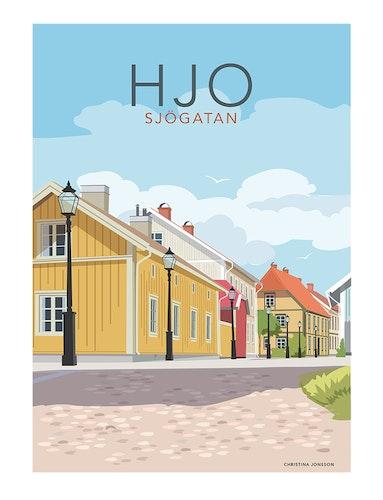 Hjo Sjögatan 30x40 print