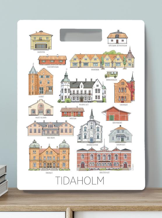 Tidaholmshus Skärbräda 30x40
