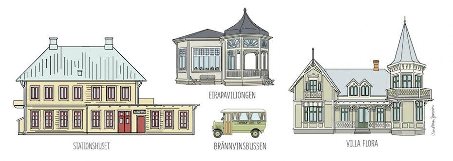 Vackra hus
