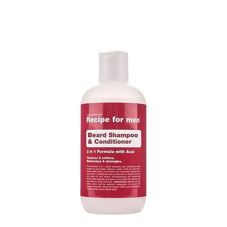 Recipe for Men - Beard Shampoo & Conditioner 250ml