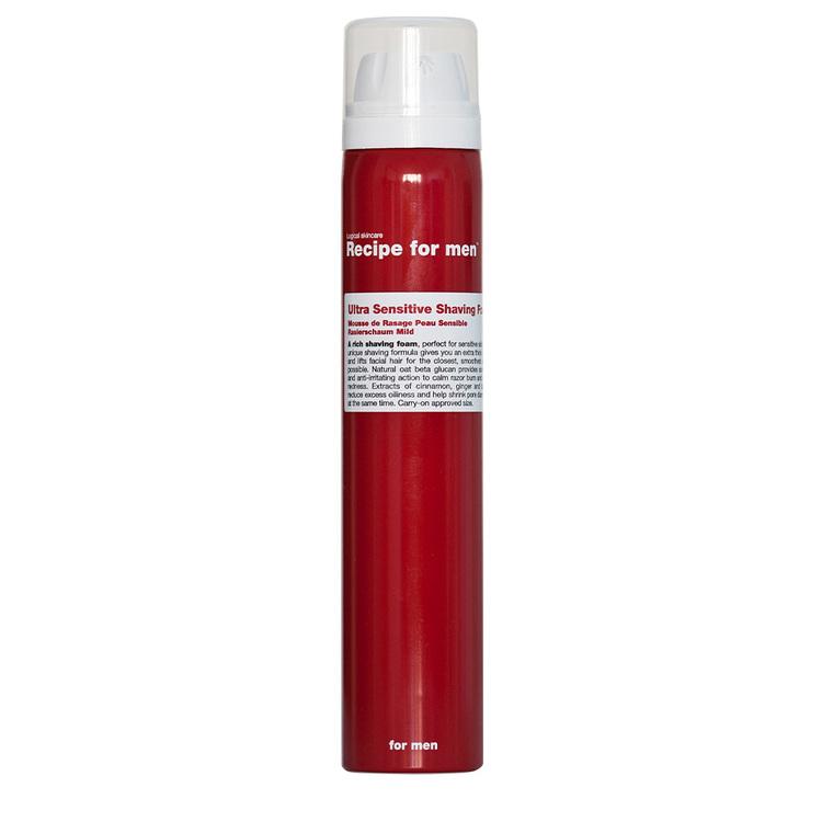 Recipe for Men - Ultra Sensitive Shaving Foam 100ml