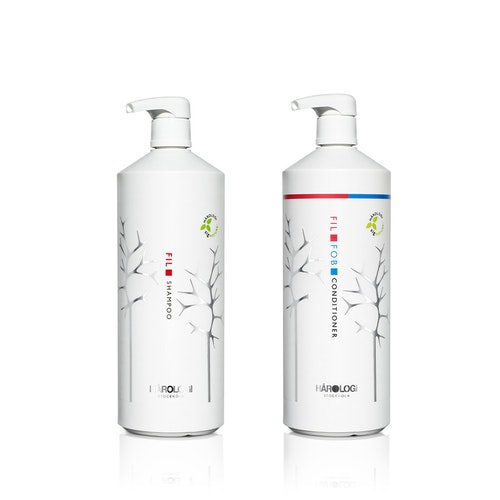 Hårologi - Fil Shampoo + Conditioner 1000ml