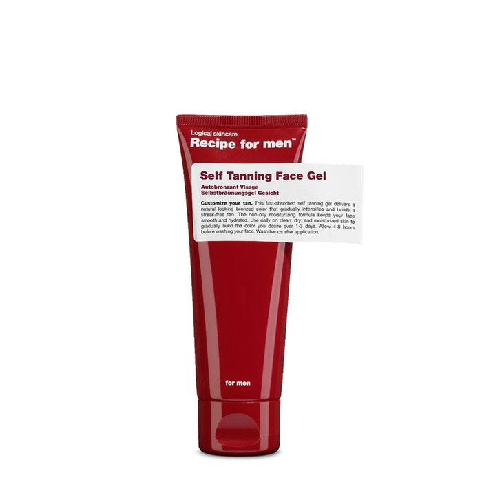 Recipe for Men - Self Tanning Face Gel 75ml