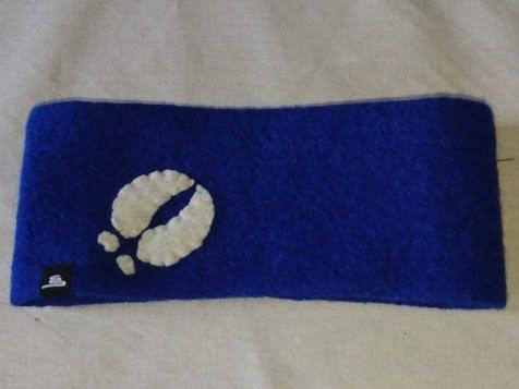 Pannband blå