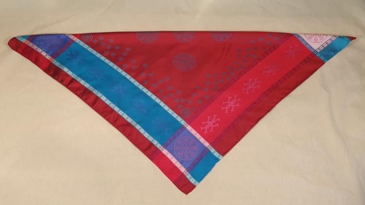 HEARVVALIIDNI 1911 D ½ röd-turkos