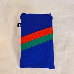 Mobilfodral klarblått sydis,  11x18