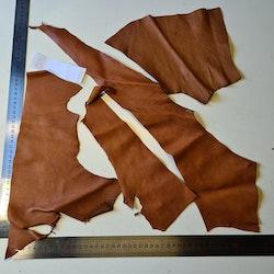 Renskinnsbitar  naturbrun 6