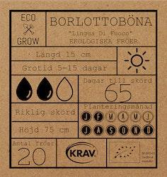 Borlottoböna Fröpåse